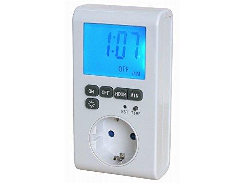 GAO EMT769AET2 Zeitschaltuhr Digital - mit XXL LCD 1 Programm pro 24 Stunden