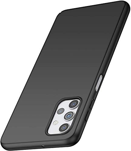 Phone Case for Samsung A32 5G Slim Protective Samsung Galaxy A32 Case [Matte Finish] [Guard from Scratch/Slip/Shock/Fingerprint] [Ultra Slim] PC Hard Cover for Samsung Galaxy A32 5G (Black)