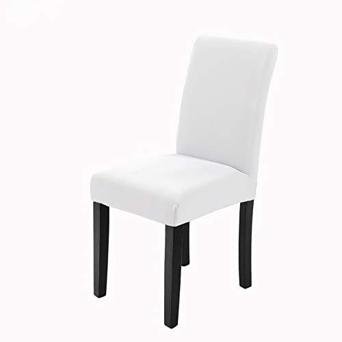 Veakii R Fundas para sillas Pack de 6 Fundas sillas Comedor, Lavable Comedor Asiento Cubre para el C