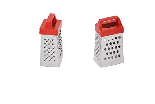 Perfect Stix Mini Grater-2ct Stainless Steel Mini Grater, 2.5' Height, 2' Width, 2.5' Length (Pack of 2)