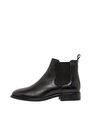 Bianco Damen BIAJESSICA Classic Chelsea Boots, Schwarz (Black 100), 40 EU