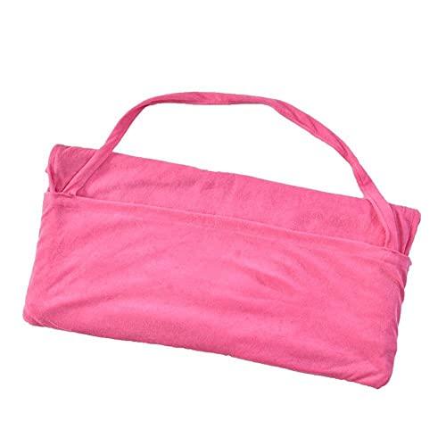 Toalla De Playa Silla De Ocio Suministros Suministros Piscina Cubierta De Silla Sillón Rápido Secado Reclinable Playa Toalla #2233 (Color : Pink)
