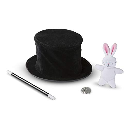 Melissa & Doug Magician?s Pop-Up Hat with Tricks