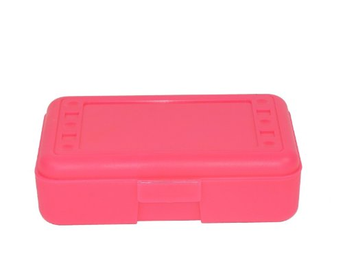 Romanoff Products Pencil Box, Hot Pink