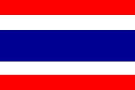 Haute Qualité 5ft x 3ft 5'X3' drapeau Thaïlande Thaï