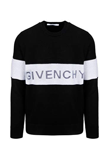 Luxury Fashion | Givenchy Heren BM90AP4Y4Y004 Zwart Wol Truien | Herfst-winter 19