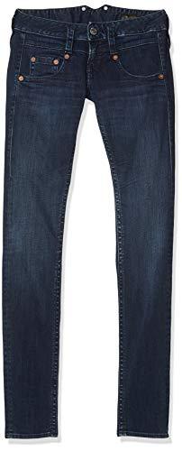 Herrlicher Damen Pitch Slim Jeans, Dunkelblau, 31W / 32L