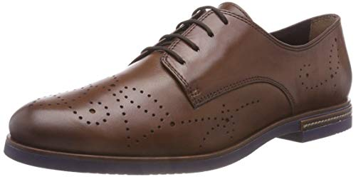 Tamaris Damen 23208-31 Oxfords, Braun