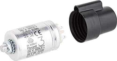 Buderus Kondensator 3µF 400 V AEG inkl. Kappe 5885662 für BE 1.0-2.2 BZ OE TE Brenner