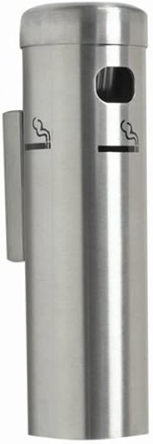 Wall Mounted Cigarette Receptacle color  Satin