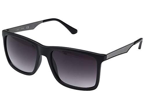 GUESS GF0171 Matte Black/Smoke Gradient Lens One Size