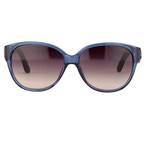 Oscar De La Renta Sonnenbrille, oval, blaue und graue Gläser, ODLR30C4SUN