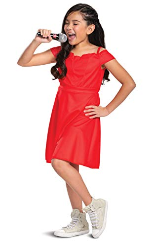 Gabriella Costume High School Musical Disney Character Outfit, Kids Movie Inspired Girl's Dress, Classic Child Size Medium (7-8)