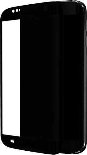 The Kase Paris displaybeschermfolie gemaakt van gehard glas voor Samsung Galaxy S7 Edge zwart