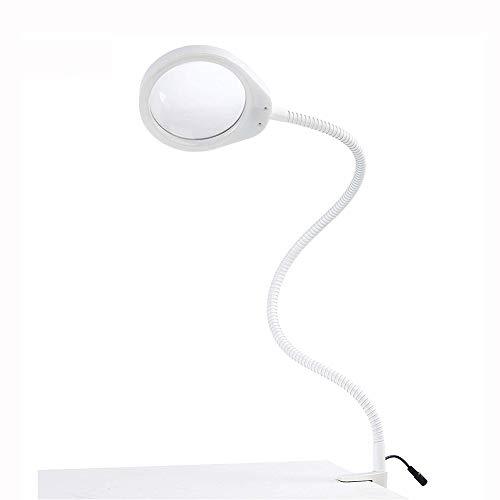 Nicekko 8X LED verlicht loep, 800 mm zwanenhalsarmen, kan in de elektronica, in het drukken, in de reparatie van metalen plastic het meest worden gebruikt