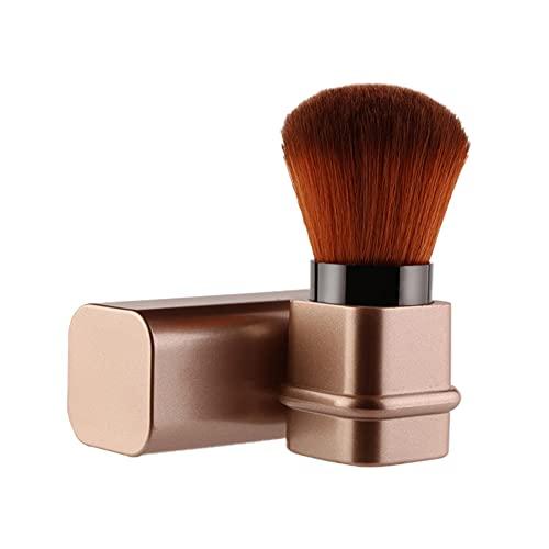 Hihamer Pinceau à Maquillage Pinceaux à Poudre Kabuki Pinceau Fond de Teint Pinceau Blush Maquillage Rétractable Blush Brush Polissage, Pointillé, Anticernes