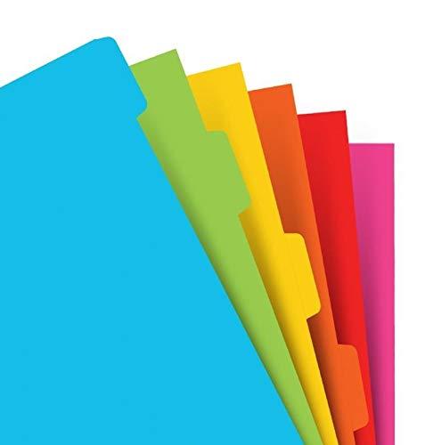 FILOFAX Index, A5, blanko, verschiedene Farben
