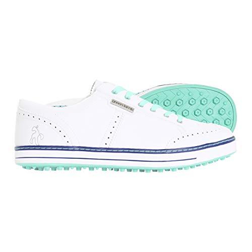 Green Lamb Chaussures de Golf Hybride pour Femme - - Aqua...