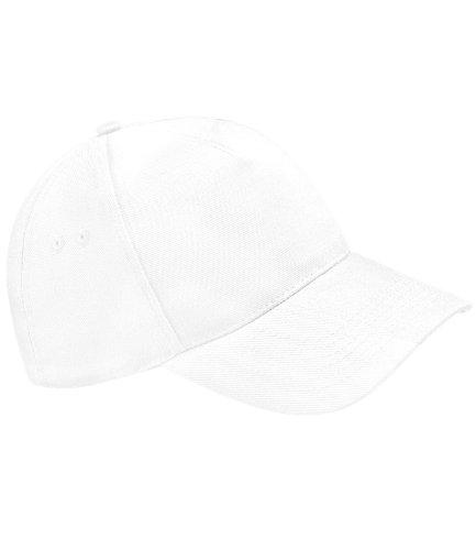 Beechfield - Casquette de Baseball - Homme - Blanc - Blanc - Taille unique