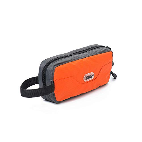 GOX Travel Toiletry Bag,Dopp Kit Case,Ultra-Light Cosmetics Bag Makeup Organizer(Orange)