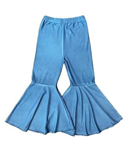Castle Rose Boutique Soft Denim Bell Bottoms Light Blue (3-6 Months)