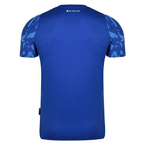 Umbro FC Schalke 04 Trikot Home 2019/2020 Kinder blau/weiß, L - 2