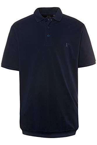 JP 1880 Herren große Größen bis 8XL, T-Shirt, Poloshir, JP1880-Brustdruck, Bauchshirt, Piqué, Navy XXL 712617 70-XXL