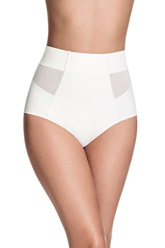Squeem - Sheer Allure, Women's Slimming Mid Waist Tulle Shaping Panty