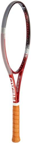 bester Test von head prestige pro KOPF YouTek IG Prestige Pro Tennisschläger, Rot / Schwarz, Midplus, RH230802L4 (ohne Saiten)
