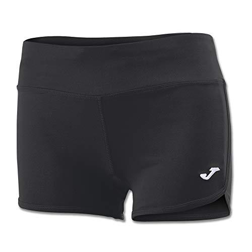 Joma Stella II Pantalones Cortos, Mujer, Negro, M