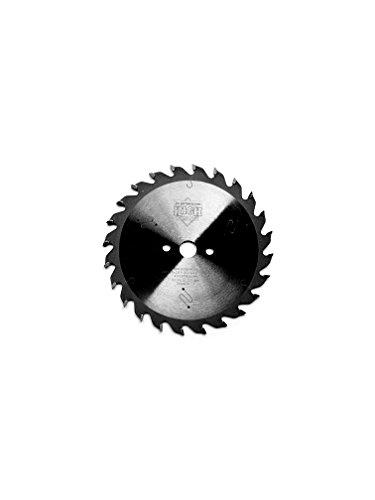 Lama seghettata circolare HM, con 24 denti alternati, dimensioni di 125 x 2,6 x 12,7, per seghe circolari Black & Decker, Skil