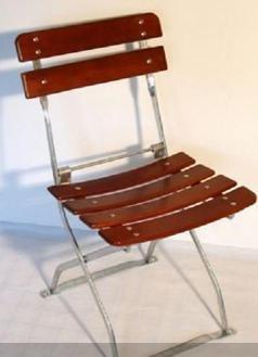 La brasserie Chaise de jardin