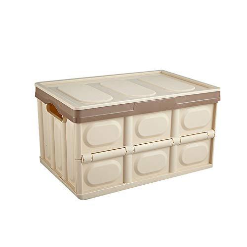 YUANP Zusammenklappbarer Aufbewahrungskasten Faltbarer Abfalleimer Für Zuhause Auto Angeln Reiseorganisation Hochleistungs-Picknickkorb,C-55L