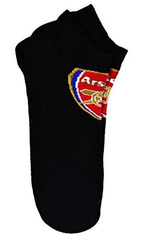 Arsenal FC Sneaker-Socken, offizielles Fußball-Team, für Erwachsene, für Herren -