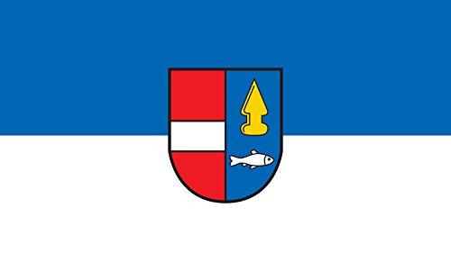 Unbekannt magFlags Tisch-Fahne/Tisch-Flagge: Rheinhausen 15x25cm inkl. Tisch-Ständer