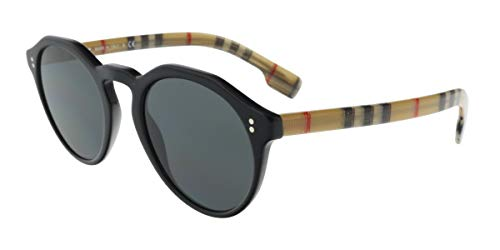 BURBERRY Sonnenbrillen (BE-4280 375787) glänzend schwarz - bedruckt beige - grau