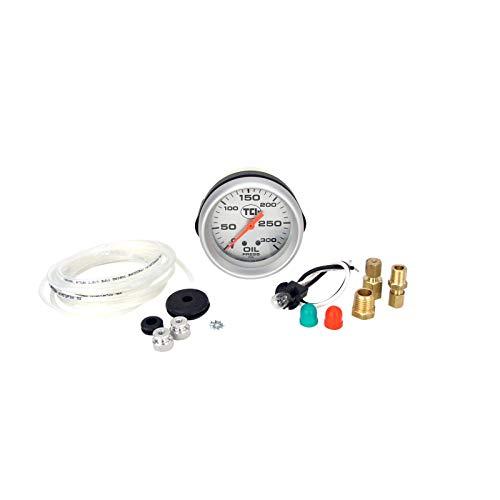 TCI 801101 Pressure Gauge (2-5/8 Transmission Silver Face)