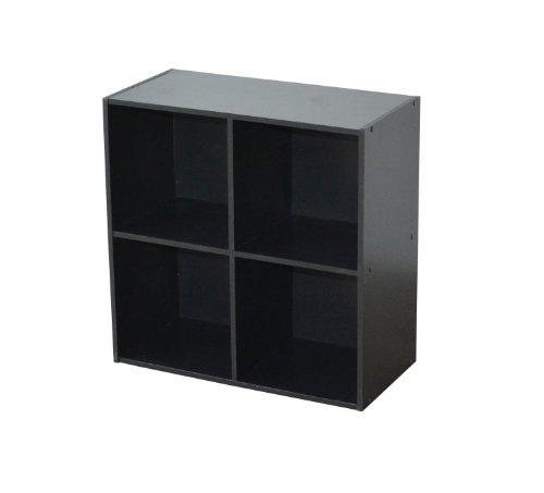 """Alsapan Scaffale per Libri /""""Easy Life Cube/"""" con 3 sportelli Colore Acero"""