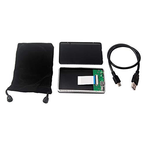 Gazechimp Mini Festplattenlaufwerk, USB 2.0 Bis 1,8 Zoll CE ZIF Aluminium