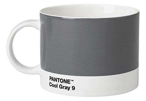 Pantone Teebecher, Porzellan, Cool Gray 9, 10.4 x 10.4 x 8 cm