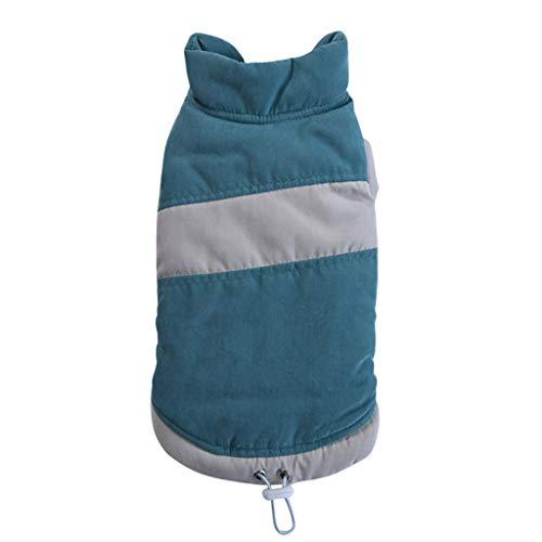 EUZeo Hundejacke sehr warm für Winter und kaltes Wetter Extraweiche Winddichte Hundeweste Niedlich Haustier-Sweatshirt Hundemantel Hundepullover Katzenpullover