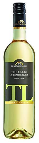 Württemberger Wein Trollinger mit Lemberger Blanc de Noir QW Feinherb (1 x 0.75 l)