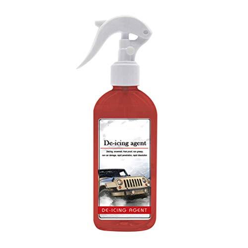 OTentW 100 ML Spray Rimozione Ghiaccio Inverno Auto Parabrezza Deicer Spray Sbrinamento Neve Spray Anti-Ghiaccio Kit Protezione Antigelo
