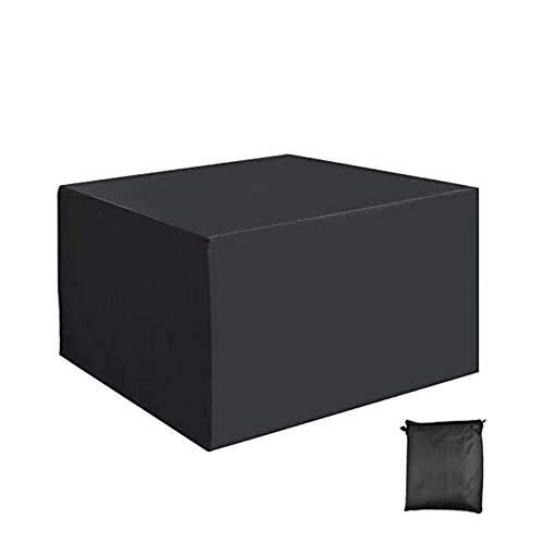 WZDD Funda De Muebles Jardin Impermeable 230x165x80cm, Cubierta De Muebles De Jardín Rectangular, Tela Oxford Revestimiento De PU, Funda para Mesa De Jardin Y Sillas
