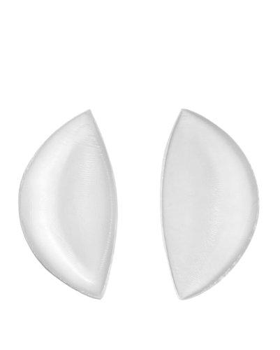 Sodacoda Silikon BH Einlagen 180g/Paar - Sichelförmige Push-Up Brust-Einlagen für BH, Badeanzug und Bikini - Transparent