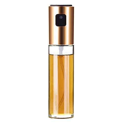 Zwbfu Pulverizador de aceite para cocinar niebla fina, botella vacía de cristal, pulverizador de aceite de oliva, botella rellenable, portátil, mini botella de viaje