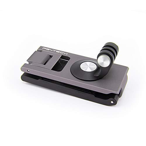 Hensych für PGYTECH Action-Kamera Strap Halter für Osmo Pocket/Osmo Pocket 2/ OSMO Action, Rucksack Fixiert Gurt Adapter Halterung Clip Montieren für GoPro / Yi etc Action-Kameras