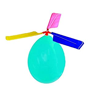 Extremely easy to set up. Wings are to be attached to the central piece (hub) which is then attached to a balloon The balloon helicopter toy turns a normal balloon into a sophisticated flying machine Individually poly pack. Each bag comes with 1 heli...