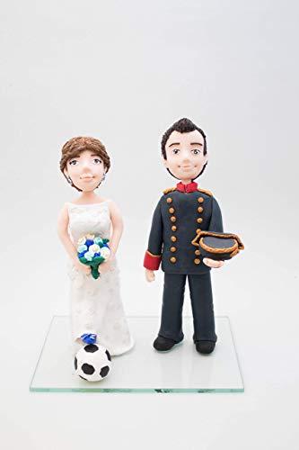 Novios para tarta de BODA personalizados DOS FIGURAS. Figuras de personas. Figuras personalizadas a partir de fotos. Esculturas personalizadas