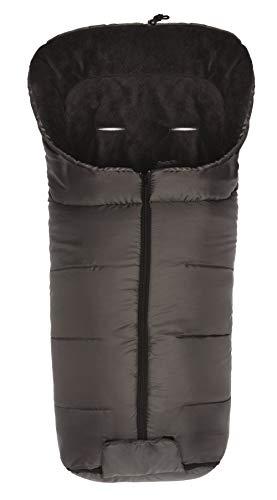 Fillikid Winterfußsack Eco Komfort/Fußsack Universal für Babyschale, Autositz/Fußsack für Kinderwagen, Buggy oder Sportwagen, Design:grau
